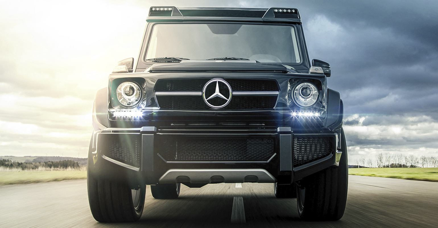 Mercedes benz g6 hammer edition chelsea truck company for Mercedes benz corp
