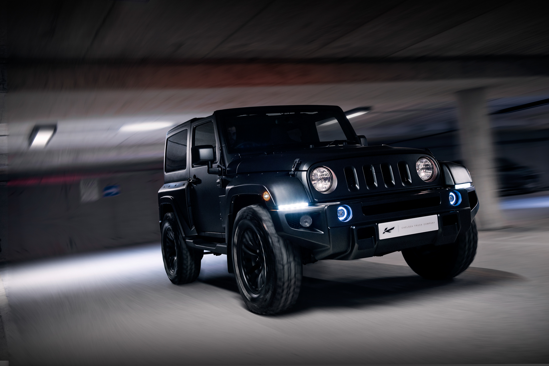 We re Obsessed With This Badass Black Hawk Custom Jeep Wrangler
