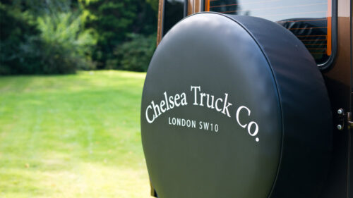 Chelsea Truck Company Black Spare Wheel Cover - Soft Vinyl