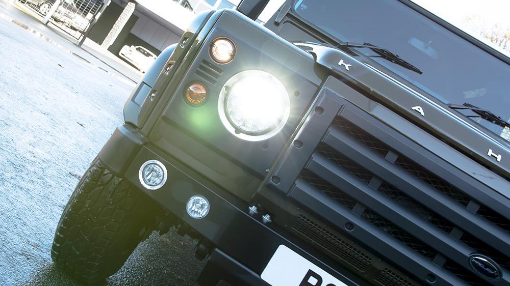 Diamond LED Military Headlamps - Pair