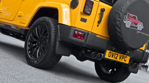 Quad Crosshair Exhaust System - 100mm Tailpipes Black ? or Stainless Steel ?