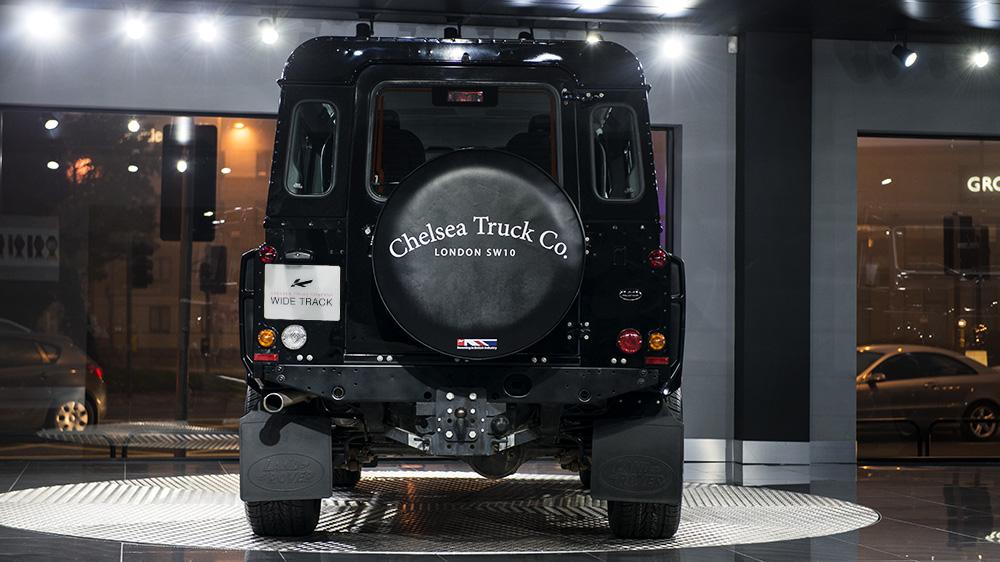 Chelsea Truck Company Black Spare Wheel Cover - Soft Vinyl