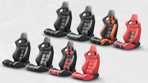 Front GTB Sport Seats in Quilted & Perforated Leather - Pair