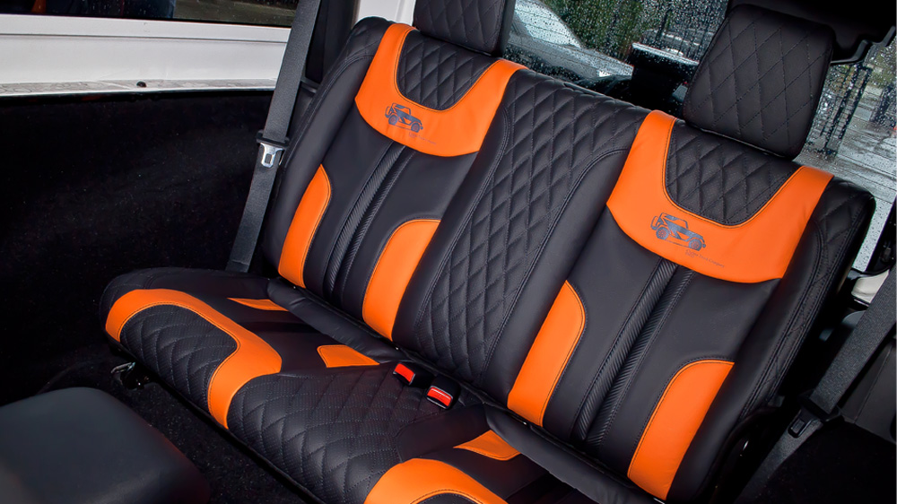 Original Front Rear Seat Covers In Quilted Perforated Leather