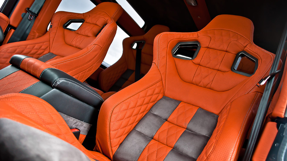 Front Gtb Sport Seat In Quilted Amp Perforated Leather